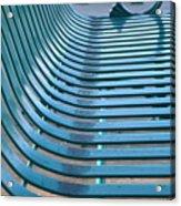 Turquoise Wave Acrylic Print