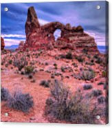 Turret Arch Acrylic Print