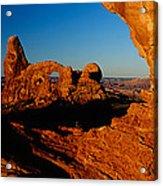 Turret Arch Through North Window Acrylic Print