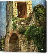 Turret At Wallingford Castle Acrylic Print