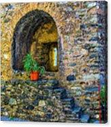 Turret Window Acrylic Print