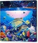 Turtle Bay Acrylic Print