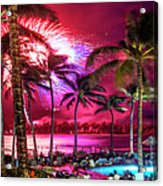 Turtle Bay - Independence Day Acrylic Print
