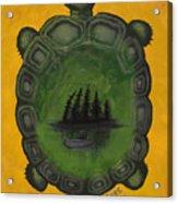 Turtle Island Acrylic Print