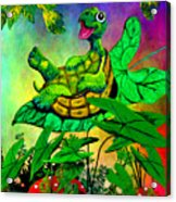 Turtle-totter Acrylic Print