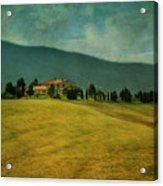 Tusacany Hills Acrylic Print