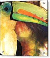 Tusanii Acrylic Print by Anthony Burks Sr