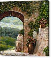 Tuscan Arch Acrylic Print