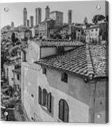 A Window To Tuscany Acrylic Print