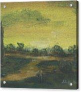 Tuscan Dusk 2 Acrylic Print by Shelby Kube