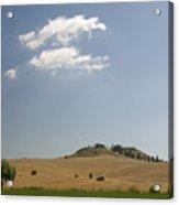 Tuscan Field And Cloud 4699 Acrylic Print