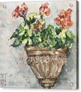 Tuscan Floral Acrylic Print