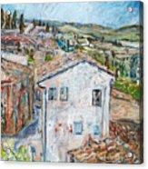 Tuscan House Acrylic Print