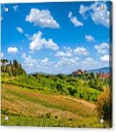 Tuscan Idyll  Acrylic Print