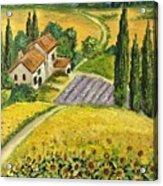 Tuscan Italy Acrylic Print