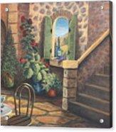 Tuscan Retreat Acrylic Print