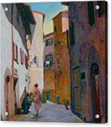 Tuscan Street Acrylic Print