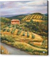 Tuscan Summer Acrylic Print