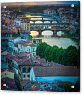 Tuscan Sunbeams Acrylic Print by Inge Johnsson