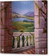 Tuscan Terrace  Acrylic Print