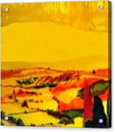 Tuscan View In Resin Acrylic Print by Jason Charles Allen