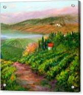 Tuscan Vista Acrylic Print