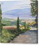 Tuscan Walk Acrylic Print