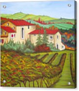 Tuscany Acrylic Print by Amanda Schambon