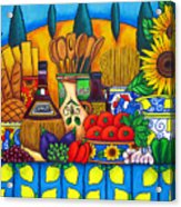 Tuscany Delights Acrylic Print