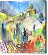 Tuscany Landscape 03 Acrylic Print
