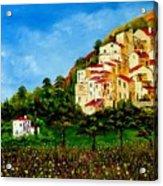 Tuscany Spring Acrylic Print