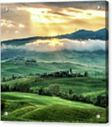Tuscany Sunburst- Acrylic Print