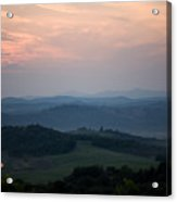 Tuscany Sunset 2 Acrylic Print