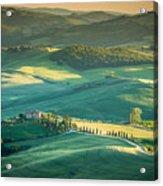 Tuscany Sunset Acrylic Print
