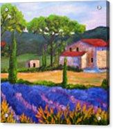 Tuscany Villa Acrylic Print
