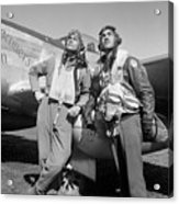 Tuskegee Airmen Acrylic Print by War Is Hell Store