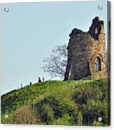 Tutbury Castle Ruins Acrylic Print