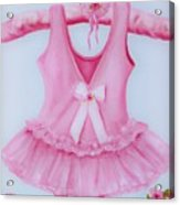 Tutu With Ribbon Acrylic Print