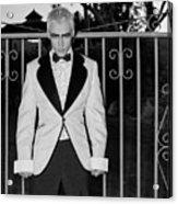 Tuxedo Vampire Acrylic Print
