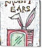Tv And Rabbit Ears Acrylic Print