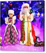 Twas The Night Before Christmas Acrylic Print