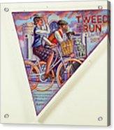 Tweed Run London Princess And Guvnor  Acrylic Print