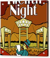 Twelfth Night Poster Acrylic Print