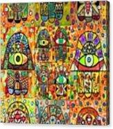 Twelve Hamsas Acrylic Print