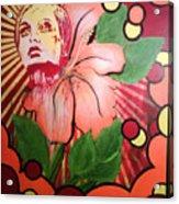 Twiggy Acrylic Print by Stephen  Barry