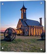 Twilight At Chapel Of The Ozarks - Top Of The Rock Missouri Acrylic Print