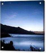 Twilight At Klondike Lake Acrylic Print