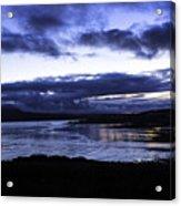 Twilight At Loch Bracadale Acrylic Print