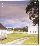 Twilight Barn - Winneconnie Acrylic Print