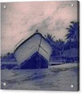 Twilight Boat  Acrylic Print
